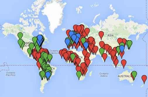 Google Maps/Reprodução/MRE