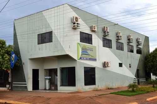 Fachada da Prefeitura Municipal de Gaúcha do Norte/ Divulgação