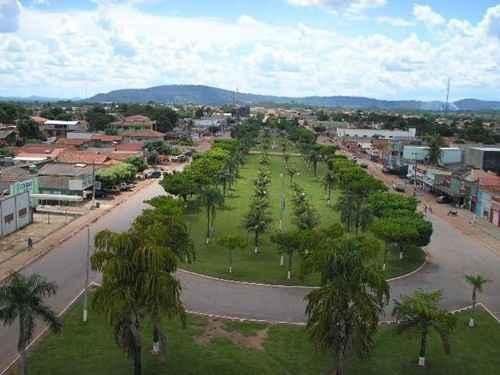 Foto panorâmica da cidade de Vila Rica/ MT/ Divulgação