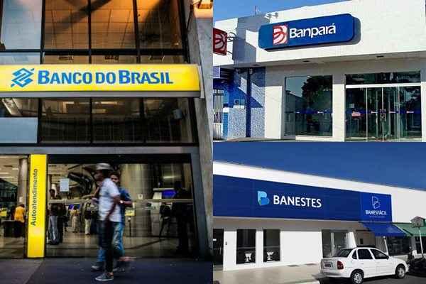 Bancários/DF - Divulgação/Banestes - Divulgação/Banpará