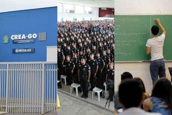 PCGO/Divulgação - USP/Imagens - Divulgação/CREA/GO