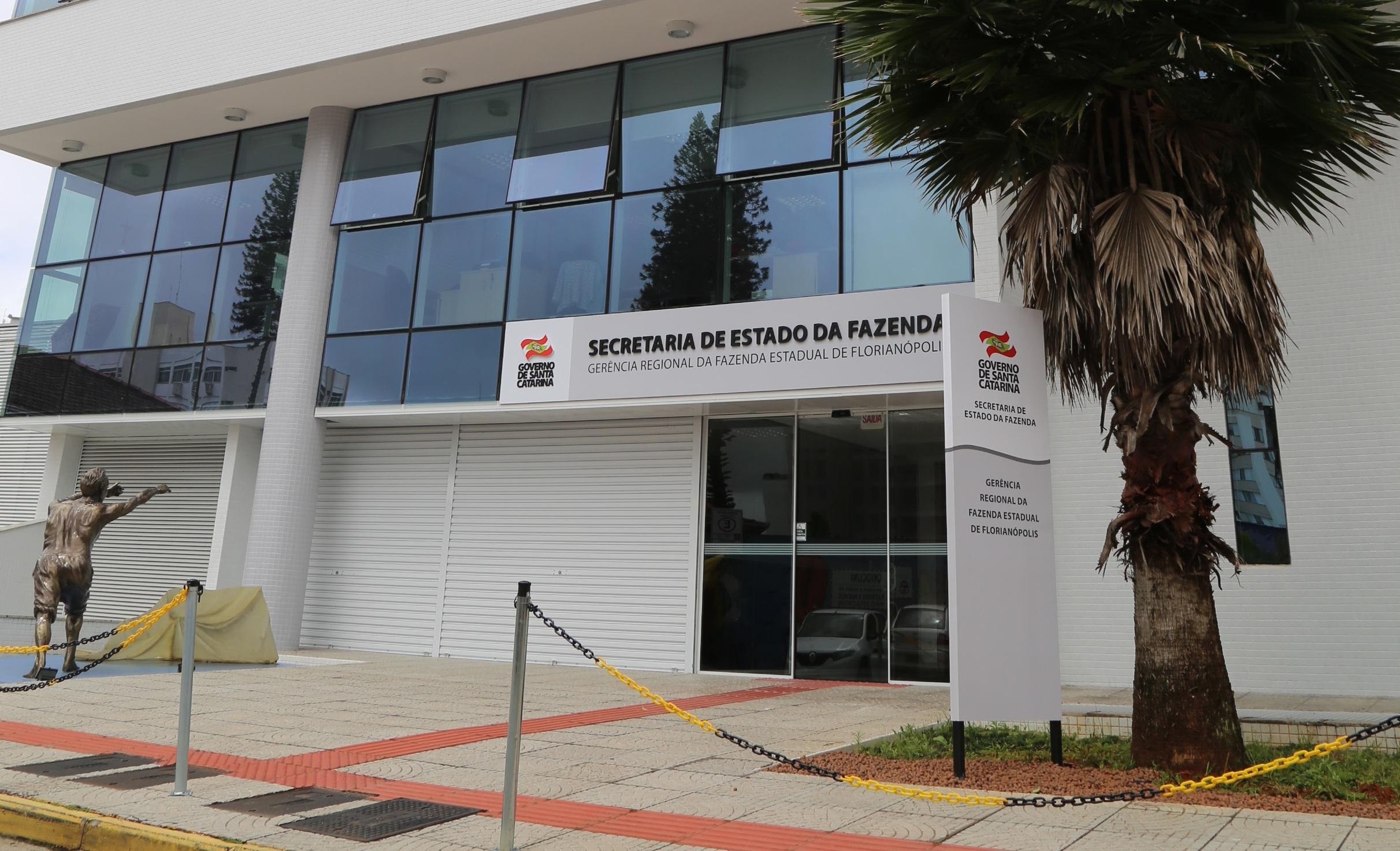 Divulgação SEF/SC