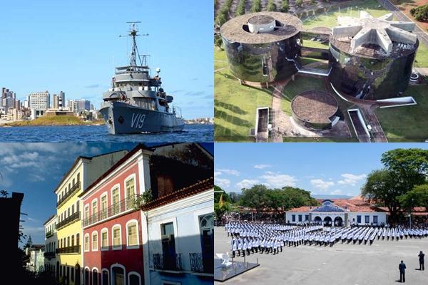 Breno Fortes/CB/D.A Press - Divulgação/Iphan/FAB/Marinha