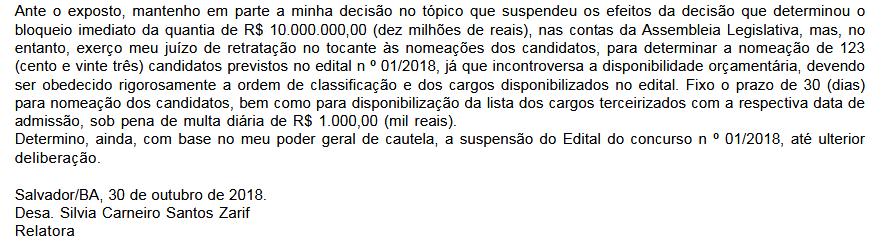 Diário Oficial Bahia