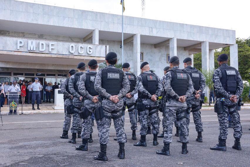Divulgação/Facebook PMDF