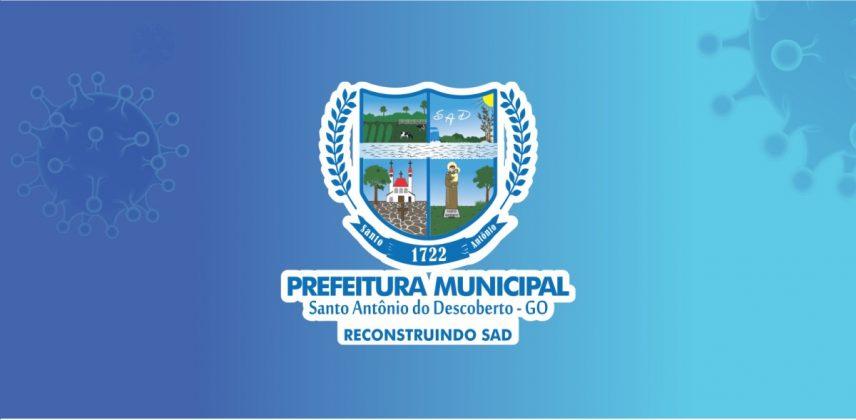 Divulgação/Prefeitura Santo Antônio do Descoberto GO